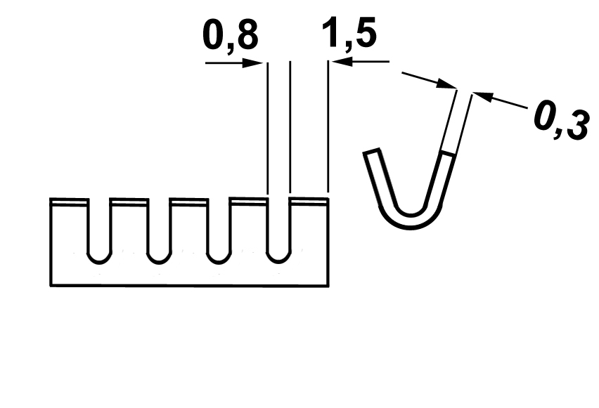 Aderend-Mehrfach-Clip 131