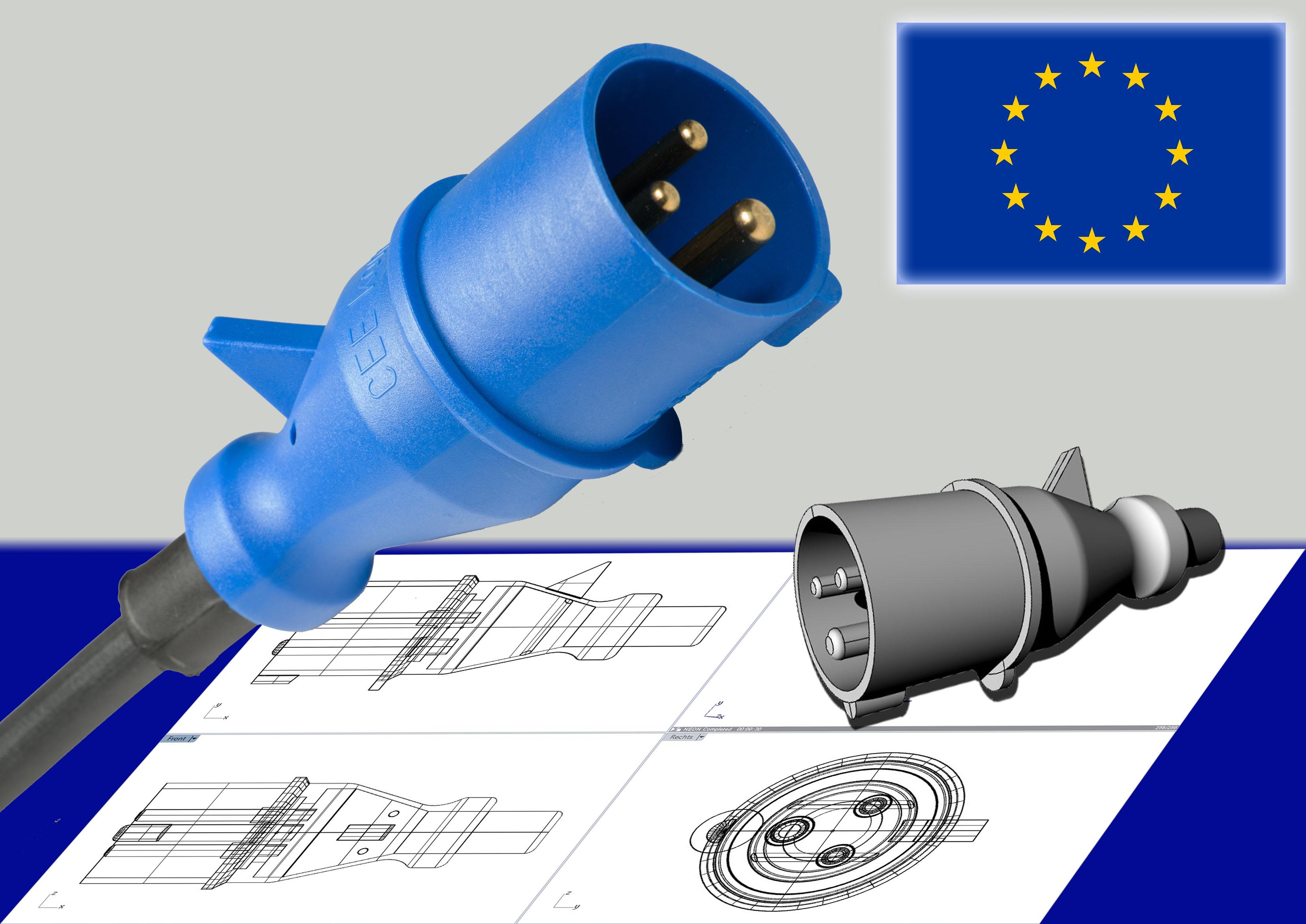 CEE 4-pol EU