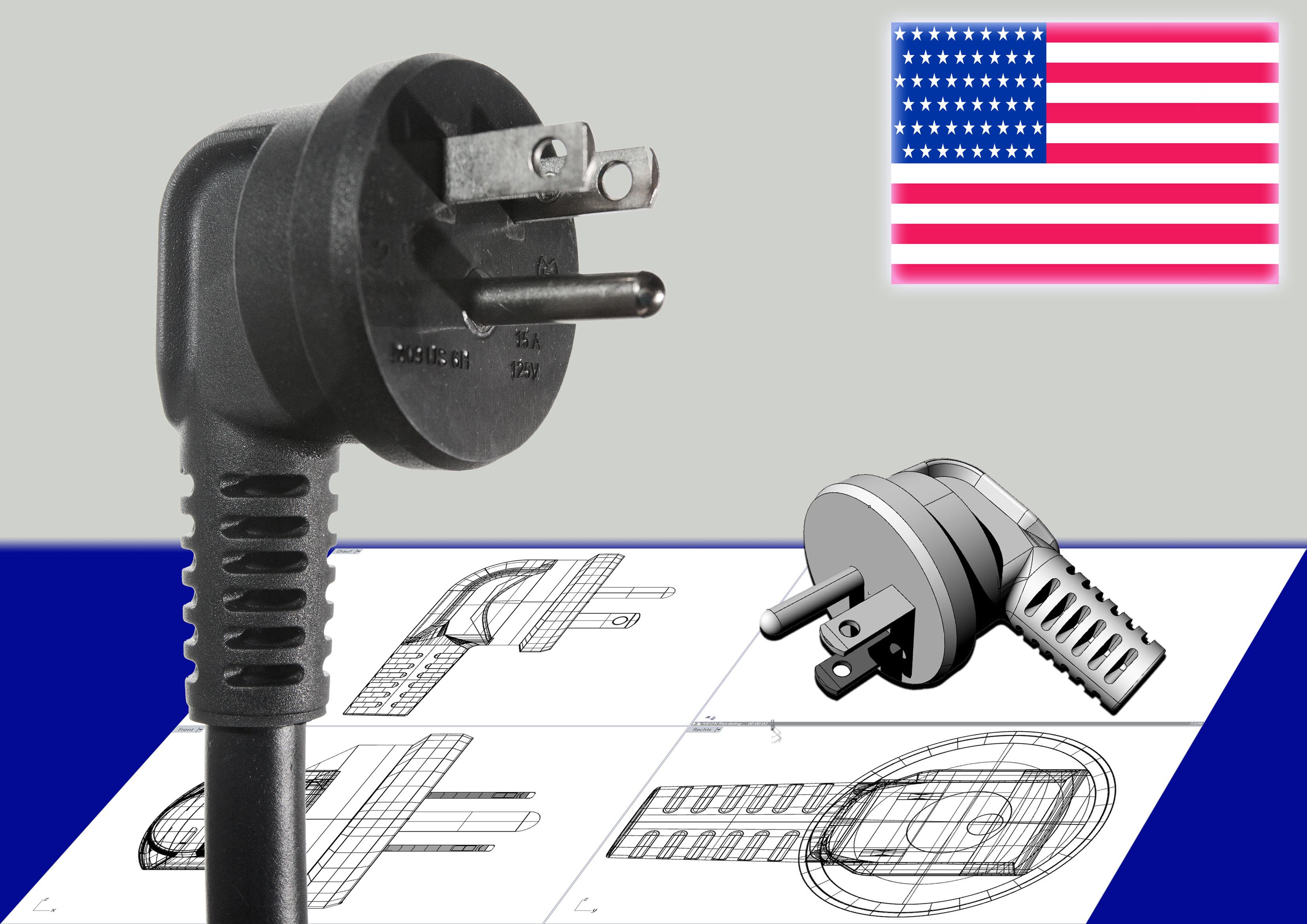 Winkelstecker USA