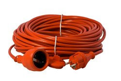 extension cord PVC in safety colour