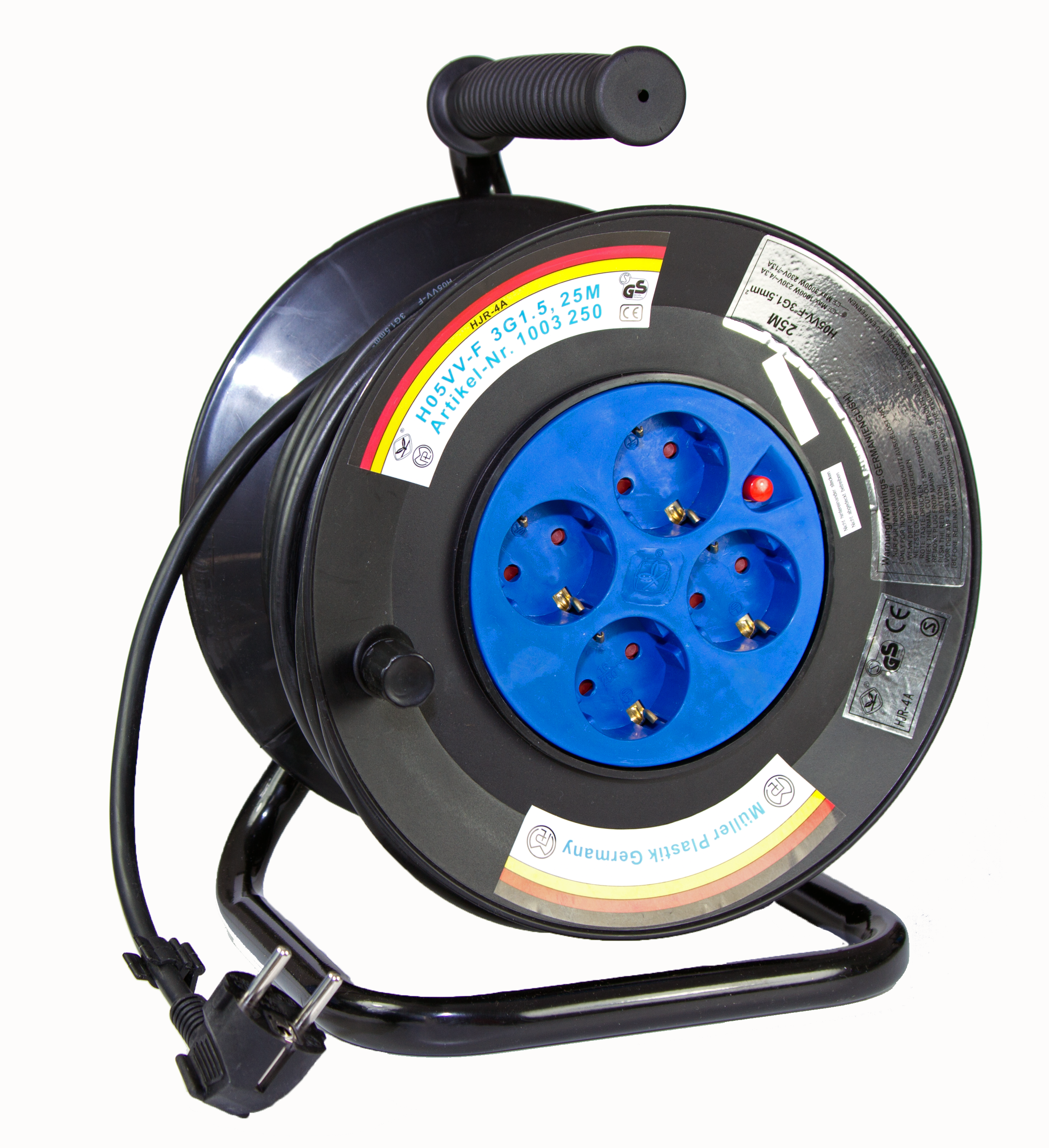 Cable Reels Product : Müller plastik gmbh cable reel reels electro