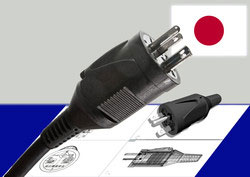 Zentralstecker Japan